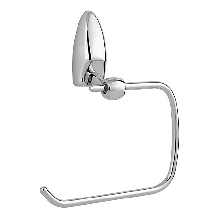 Polished Chrome Arles Towel Ring - BRB-AB0C - 1