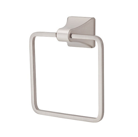 Brushed Nickel Park Avenue Towel Ring - BRB-FE1K - 1