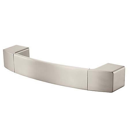 Brushed Nickel Kamato Towel Holder - BRB-KM1K - 1