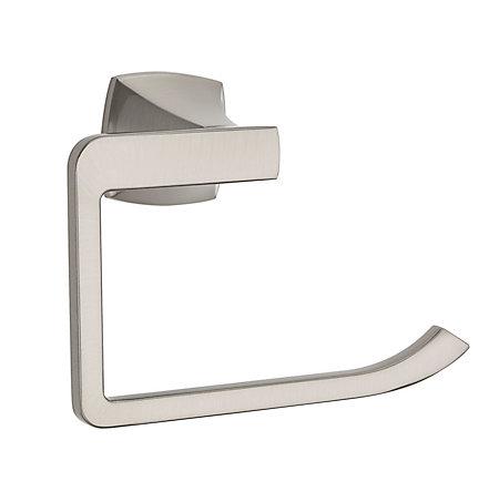Brushed Nickel Venturi Towel Ring - BRB-VN0K - 1