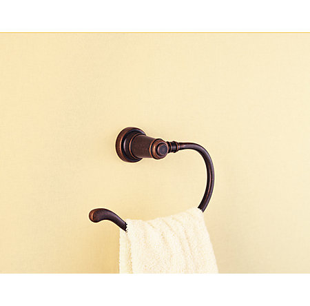 Rustic Bronze Ashfield Towel Ring - BRB-YP0U - 3