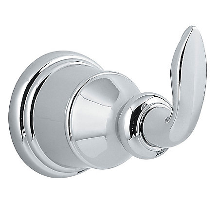 Polished Chrome Avalon Robe Hook - BRH-CB0C - 1