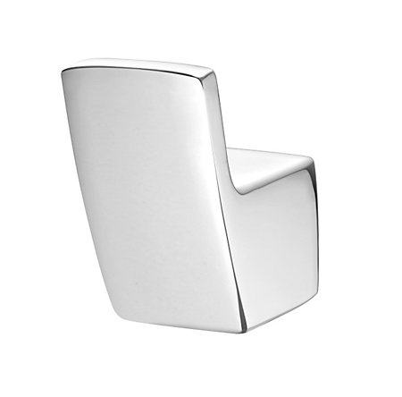 Polished Chrome Kenzo Robe Hook - BRH-DF1C - 1