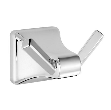 Polished Chrome Park Avenue Robe Hook - BRH-FE1C - 1