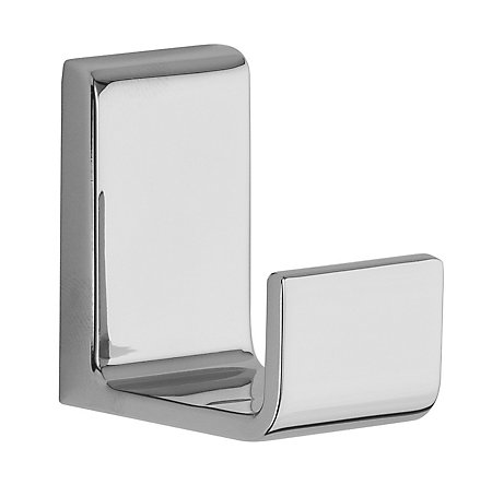 Polished Chrome Modern Robe Hook - BRH-MD1C - 1