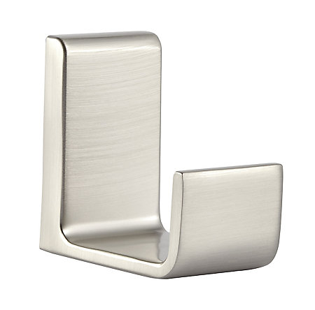 Brushed Nickel Modern Robe Hook - BRH-MD1K - 1