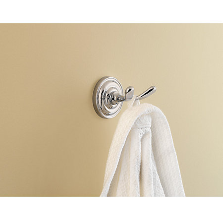 Polished Chrome Redmond Robe Hook - BRH-R0CC - 2