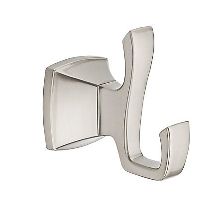 Brushed Nickel Venturi Robe Hook - BRH-VN0K - 1