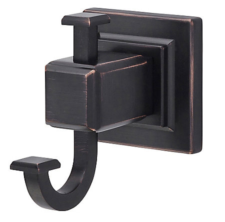 Tuscan Bronze Carnegie Robe Hook - BRH-WE1Y - 1