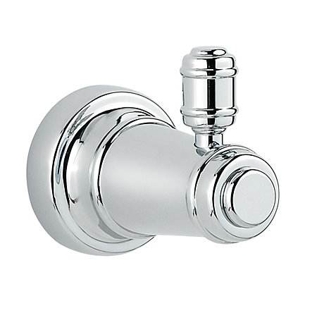 Polished Chrome Ashfield Robe Hook - BRH-YP0C - 1