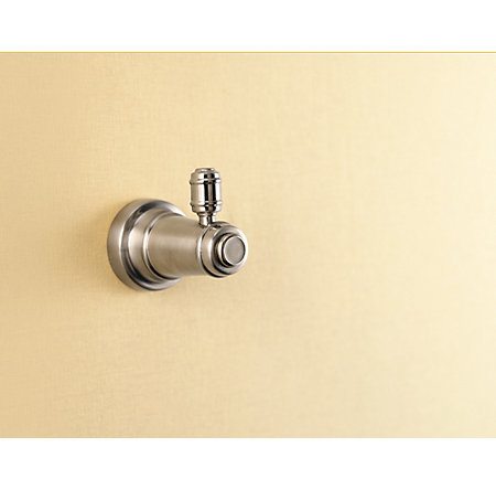 Brushed Nickel Ashfield Robe Hook - BRH-YP0K - 2