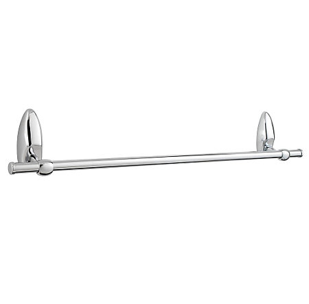 "Polished Chrome Arles 24"" Towel Bar - BTB-AB2C - 1"