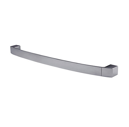 "Brushed Nickel Kenzo 24"" Towel Bar - BTB-DF2K - 1"