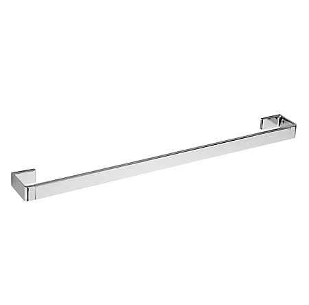 "Polished Chrome Modern 24"" Towel Bar - BTB-MD2C - 1"
