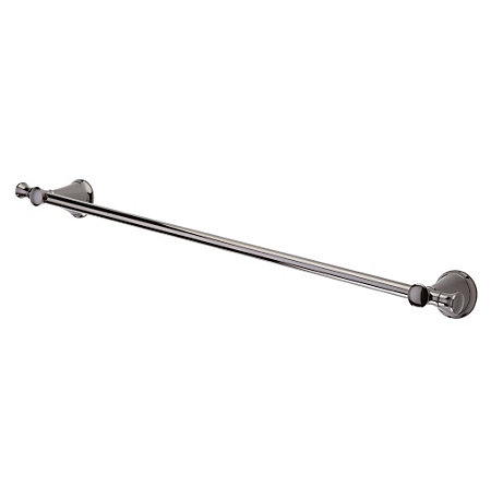 "Midnight Chrome Pasadena 24"" Towel Bar - BTB-P2MC - 1"