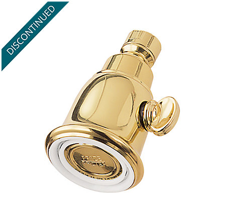 Polished Brass Price Showerheads - 015-060P - 2