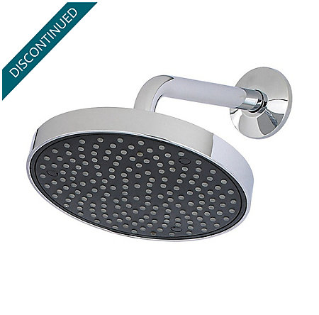 Polished Chrome Raincan Showerheads - 015-TH1C - 1