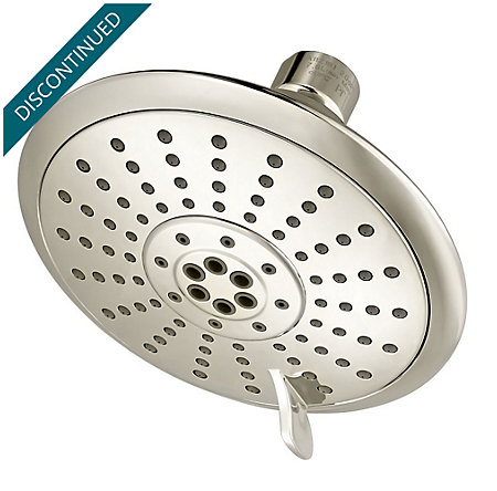 Polished Nickel Iyla Multi- function Showerhead - 015-TR0D - 1
