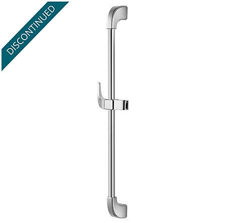 Polished Chrome Adjustable Slide Bar - 016-16FC - 1