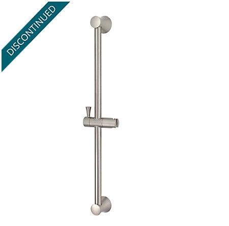 Brushed Nickel Iyla Slide bar only - 016-16TK - 1