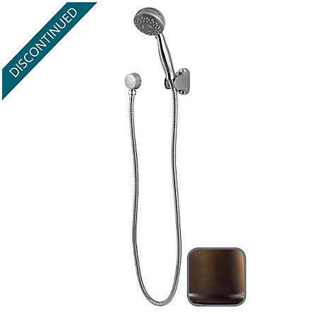 Velvet Aged Bronze Tub & Shower Handheld Showers - 016-200V - 1