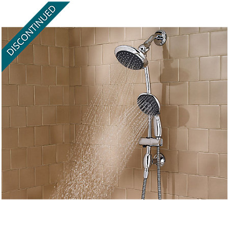 Polished Chrome Handheld Showers - 016-HH7C - 2