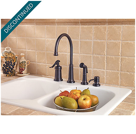 Tuscan Bronze Ashfield 1-Handle Kitchen Faucet - 026-4YPY - 4