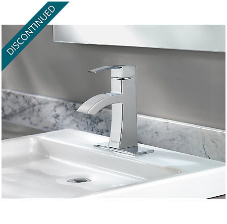 Polished Chrome Bernini Single Control, Centerset Bath Faucet - 042-BNCC - 3