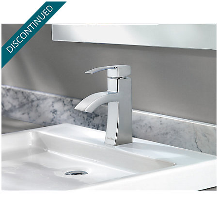 Polished Chrome Bernini Single Control, Centerset Bath Faucet - 042-BNCC - 4