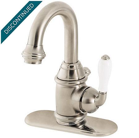 Brushed Nickel Savannah Single Control, Centerset Bath Faucet - 042-H5FK - 1