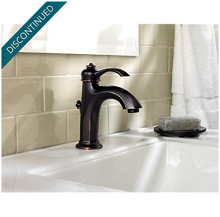 Tuscan Bronze Portola Single Control, Centerset Bath Faucet - T42-RP0Y - 3