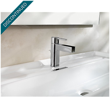 Polished Chrome Vega Single Control, Centerset Bath Faucet - 042-VGCC - 2
