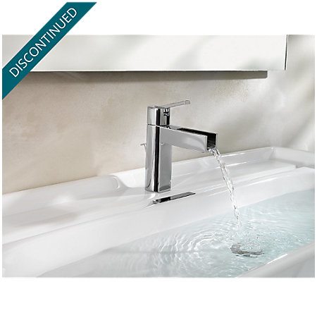 Polished Chrome Vega Single Control, Centerset Bath Faucet - 042-VGCC - 6