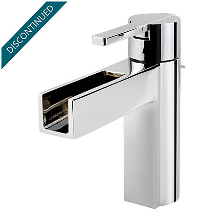 Polished Chrome Vega Single Control, Centerset Bath Faucet - 042-VGCC - 1