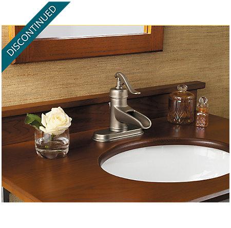 Rustic Pewter Ashfield Single Control, Centerset Bath Faucet - 042-YP0E - 4