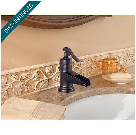 Tuscan Bronze Ashfield Single Control, Centerset Bath Faucet - 042-YP0Y - 3