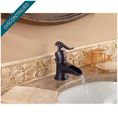 Tuscan Bronze Ashfield Single Control, Centerset Bath Faucet - 042-YP0Y - 5