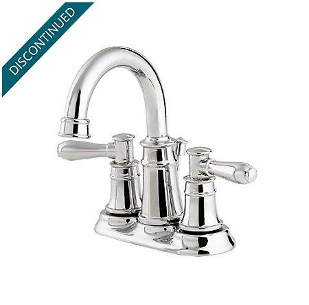 Polished Chrome Harbor Centerset Bath Faucet - 043-CL0C - 2