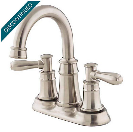 Brushed Nickel Harbor Centerset Bath Faucet - 043-CL0K - 1
