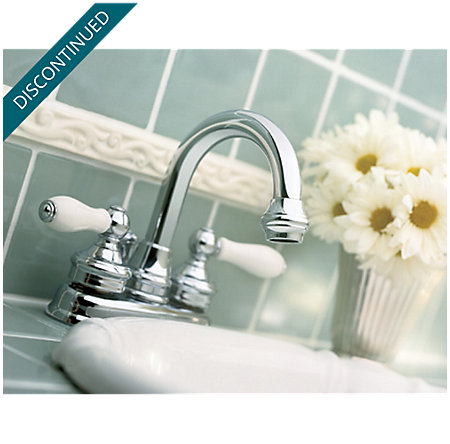 Polished Chrome Savannah Centerset Bath Faucet - 043-H0XC - 2