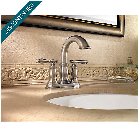 Brushed Nickel Hanover Centerset Bath Faucet - 043-TMKK - 3