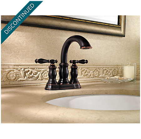 Tuscan Bronze Hanover Centerset Bath Faucet - 043-TMYY - 2