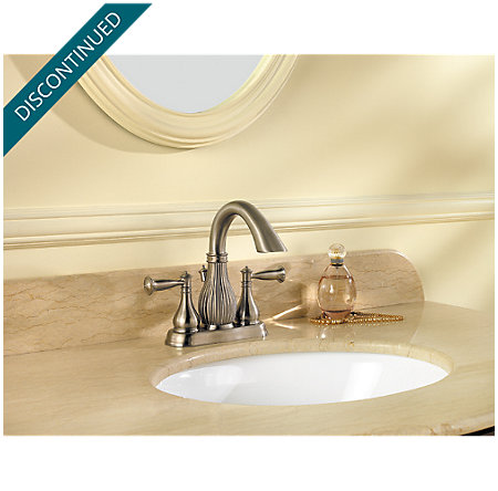 Brushed Nickel Virtue Centerset Bath Faucet - 043-VTKK - 2