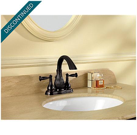 Tuscan Bronze Virtue Centerset Bath Faucet - 043-VTYY - 2