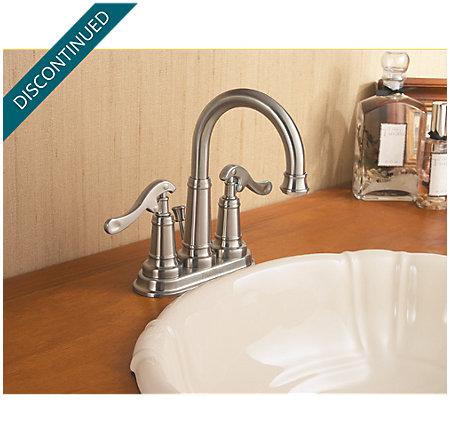 Brushed Nickel Ashfield Centerset Bath Faucet - 043-YP0K - 2