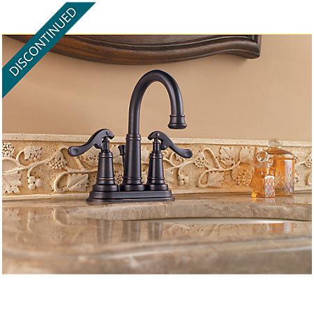Tuscan Bronze Ashfield Centerset Bath Faucet - 043-YP0Y - 2