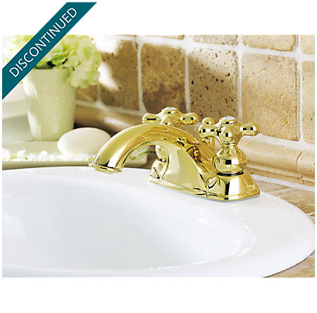 Polished Brass Georgetown Centerset Bath Faucet - 045-B0XP - 2