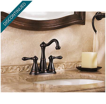 Tuscan Bronze Marielle Centerset Bath Faucet - 046-M0BY - 4