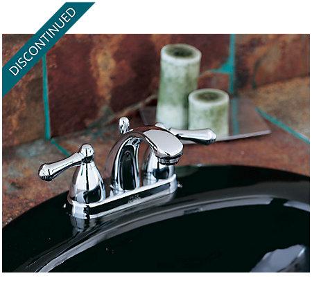Polished Chrome Parisa Centerset Bath Faucet - 048-A0XC - 4