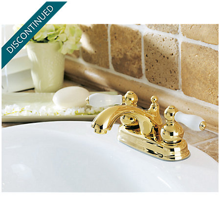 Polished Brass Georgetown Centerset Bath Faucet - 048-B0XP - 2